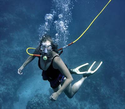Third lung Diving
